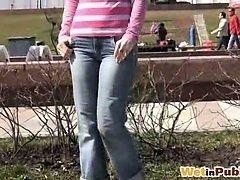 Снял девку в парке