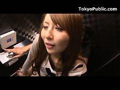 Японский публичный секс