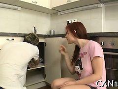 Дико раком в кухне