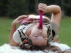 Ивана проводит некоторое время на открытом воздухе